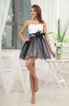 Romantic A-line Sweetheart Short Homecoming Dresses