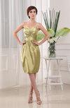 Plain Sheath Sleeveless Zip up Knee Length Ruching Mother of the Bride Dresses