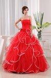 Disney Princess Hall Ball Gown Zip up Floor Length Plainness Bridal Gowns