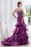 Classic Church A-line Spaghetti Sleeveless Criss-cross Straps Organza Bridal Gowns