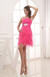 Romantic A-line Spaghetti Short Party Dresses