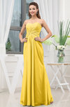Simple Sweetheart Sleeveless Zipper Floor Length Ruching Bridesmaid Dresses