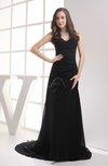 Plain Sheath Sweetheart Sleeveless Backless Plainness Evening Dresses