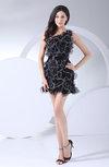 Elegant Sheath Asymmetric Neckline Sleeveless Zipper Bridesmaid Dresses