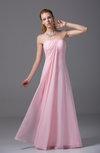 Elegant Sheath Zipper Chiffon Floor Length Party Dresses