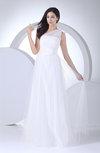Hawaiian Destination A-line Sleeveless Floor Length Bridal Gowns