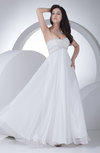Gorgeous Garden Empire Backless Beading Bridal Gowns