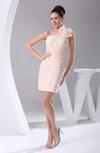 Romantic Sleeveless Half Backless Chiffon Mini Cocktail Dresses