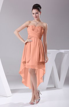 Salmon Party Dress
