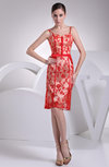 Classic Sheath Spaghetti Zipper Lace Club Dresses
