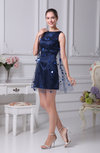 Modern Column Sleeveless Zip up Silk Like Satin Paillette Prom Dresses