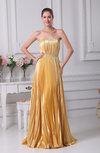 Casual Sheath Sleeveless Silk Like Satin Pleated Bridesmaid Dresses