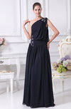 Elegant A-line Sleeveless Lace up Chiffon Evening Dresses
