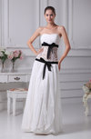 Cute Sweetheart Sleeveless Chiffon Floor Length Prom Dresses