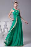 Elegant Sleeveless Lace up Chiffon Ruching Prom Dresses