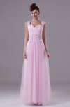 Romantic Sheath Sleeveless Zipper Floor Length Ruching Prom Dresses