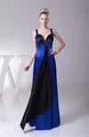 Elegant Sleeveless Silk Like Satin Floor Length Paillette Prom Dresses