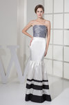 Sexy Sleeveless Zip up Silk Like Satin Floor Length Plainness Prom Dresses