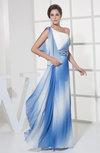 Informal Column Zipper Floor Length Ruching Evening Dresses