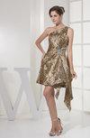 Modern Sleeveless Zip up Short Rhinestone Party Dresses