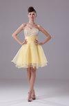 Hawaiian A-line Sweetheart Sleeveless Knee Length Ruching Bridesmaid Dresses