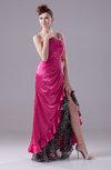 Sexy A-line Sleeveless Criss-cross Straps Silk Like Satin Party Dresses