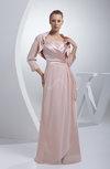 Elegant Spaghetti Sleeveless Chiffon Floor Length Ruching Prom Dresses