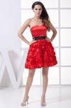Elegant A-line Sweetheart Sleeveless Mini Bridesmaid Dresses