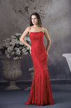 Mature Mermaid Strapless Zipper Chiffon Floor Length Party Dresses