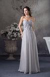Antique A-line Sweetheart Floor Length Beading Evening Dresses