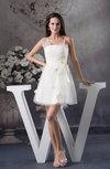 Casual A-line Asymmetric Neckline Sleeveless Backless Flower Club Dresses