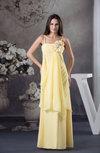 Elegant A-line Spaghetti Sleeveless Floor Length Evening Dresses