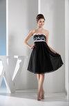 Glamorous A-line Sleeveless Backless Chiffon Pleated Bridesmaid Dresses