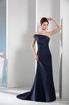 Sexy Strapless Taffeta Court Train Plainness Prom Dresses