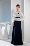 Mature Sweetheart Long Sleeve Floor Length Mother of the Bride Dresses