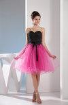 Disney Princess Baby Doll Sweetheart Sleeveless Paillette Little Black Dresses