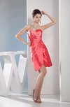 Cute A-line Sweetheart Sleeveless Taffeta Short Club Dresses