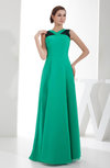 Mature A-line Sleeveless Floor Length Lace Bridesmaid Dresses