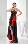 Sexy Sweetheart Zip up Hi-Lo Rhinestone Prom Dresses