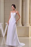 Disney Princess Hall A-line Sweetheart Sleeveless Zipper Sequin Bridal Gowns