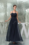 Classic Empire Sleeveless Chiffon Floor Length Prom Dresses