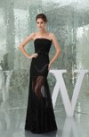 Romantic Sleeveless Zipper Floor Length Bow Evening Dresses