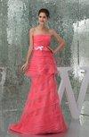 Plain Outdoor A-line Sleeveless Organza Court Train Bridal Gowns