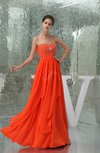Gorgeous Sweetheart Sleeveless Backless Pleated Prom Dresses