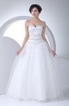 Disney Princess Garden Princess Sweetheart Floor Length Rhinestone Bridal Gowns