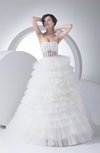 Mature Outdoor Princess Sweetheart Sleeveless Court Train Bridal Gowns