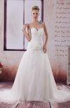 Elegant Garden Princess Sleeveless Backless Paillette Bridal Gowns