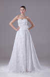 Mature Church A-line Sweetheart Chapel Train Bridal Gowns