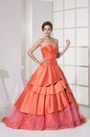 Romantic Princess Sweetheart Satin Rhinestone Quinceanera Dresses