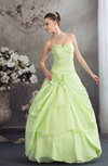Elegant Hall Princess Sweetheart Lace up Floor Length Sequin Bridal Gowns